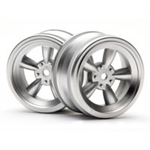 HPI-3815 Vintage 5 spoke wheel matte chrome