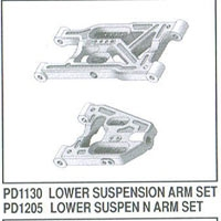 PD1130 L suspension arm EB/KS2