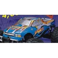 Thunder-Tiger PD6330 Printed Body BLUE (lakkert)