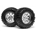 HPI-4726 Mounted super mudders tire